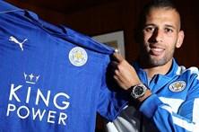 Slimani vendido ao Leicester
