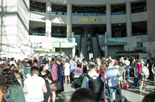 Mala suspeita fecha check-in no aeroporto