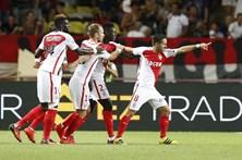 Mónaco vence o Paris Saint-Germain
