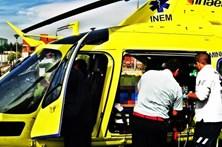 Homem resgatado de helicóptero na Serra do Gerês
