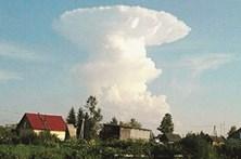 Nuvem 'nuclear' assusta milhares na Sibéria