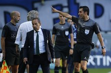 Jorge Jesus multado em 765 euros pela expulsão