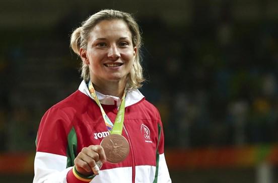 """Telma Monteiro preparada para voltar """"mais forte do que nunca"""""""