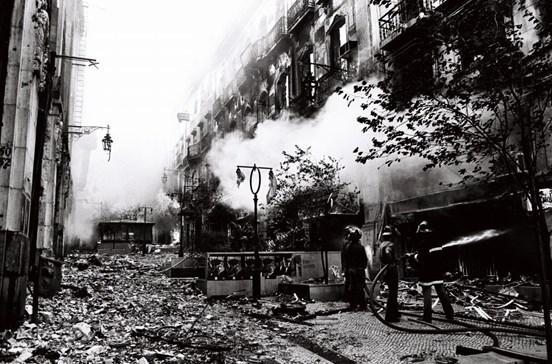 Incêndio que devastou o Chiado foi há 29 anos