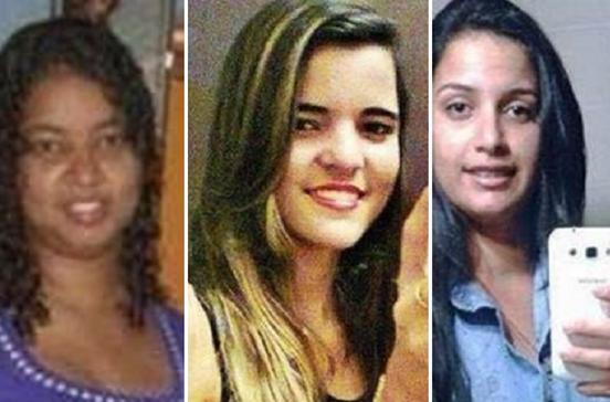 Três mortas à pancada e atiradas para fossa