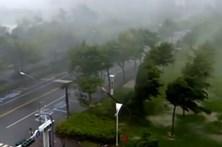 Taiwan sob alerta devido à aproximação do tufão Megi