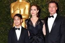 Brad Pitt bate em filho que defendia Angelina