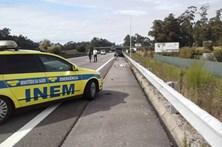 Homem morre atropelado na A28