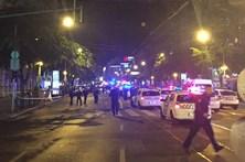 Explosão provoca dois feridos