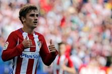 Griezmann oferece ao Atlético triunfo sofrido sobre o Deportivo