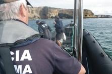 Polícia Marítima apreende 120 quilos de peixe