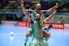 Portugal nas meias-finais do Mundial de futsal