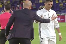 CR7 insulta treinador do Real Madrid