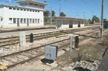 Idosa colhida por comboio fica em estado grave