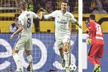 CR7 faz pazes com Zidane