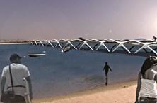 Nova ponte para a praia estará pronta até 2018