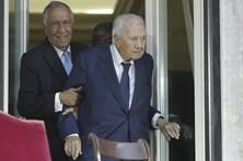 Mário Soares presente em homenagem a Maria Barroso