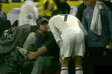 Ronaldo quis ver repetição do golo que lhe foi anulado