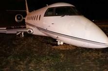 Avião de Ronaldo tem acidente em Barcelona