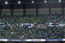 Adeptos do Sporting multados por distúrbios em Madrid