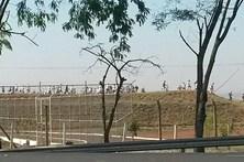 Duzentos reclusos escapam de prisão