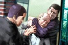 Casal idoso vive terror em assalto
