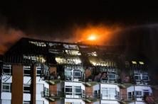 Incêndio em hospital faz dois mortos