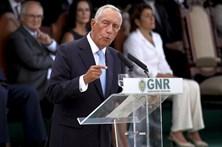 Marcelo presta homenagem à GNR