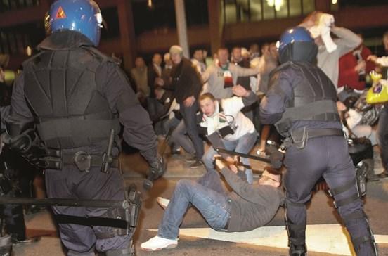 Ultras polacos ameaçam Lisboa