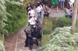 Adeptos do Legia agridem polícias junto ao Bernabéu
