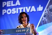 """Cristas diz que Portugal não pode viver 'Big Brother"""" Fiscal"""