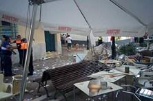 Explosão provoca 77 feridos
