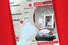 Mapa dos ultimos assaltos a multibancos