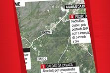 Os locais do crime em Aguiar da Beira