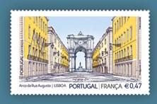 Paris e Lisboa saem em selo