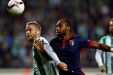 Sporting de Braga empata em casa dos turcos do Konyaspor