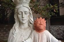 Estátua de Jesus com restauração polémica