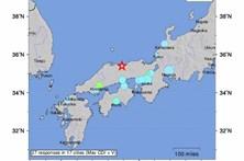 Sismo de magnitude 6,6 no Japão