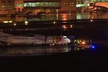 Pneu de avião da TAP rebenta ao aterrar