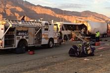 Acidente com autocarro faz 13 mortos