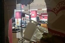 Ameaçam padeiro para explodir ATM