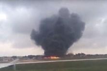 Cinco mortos em queda de avião com oficiais europeus a bordo