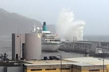 Navios cancelam escalas no Funchal devido ao mau tempo