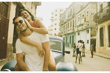 David Carreira namora em Cuba