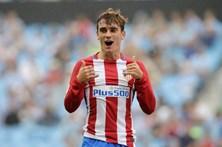 Griezmann eleito melhor jogador da época 2015/16 em Espanha