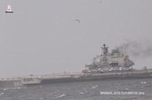 Navios russos deixam águas portuguesas terça-feira