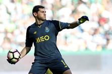 """Casillas diz que deve """"muito ao FC Porto"""""""