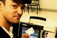 Timberlake pode ser preso por selfie de voto