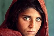 Detida afegã que foi capa da revista National Geographic