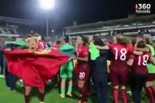 Seleção feminina de futebol qualifica-se para o Europeu